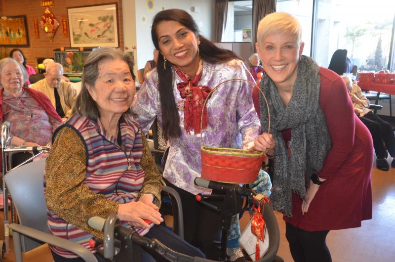 MSJ residents, staff, and volunteers gathered together to celebrate this year's Lunar New Year!