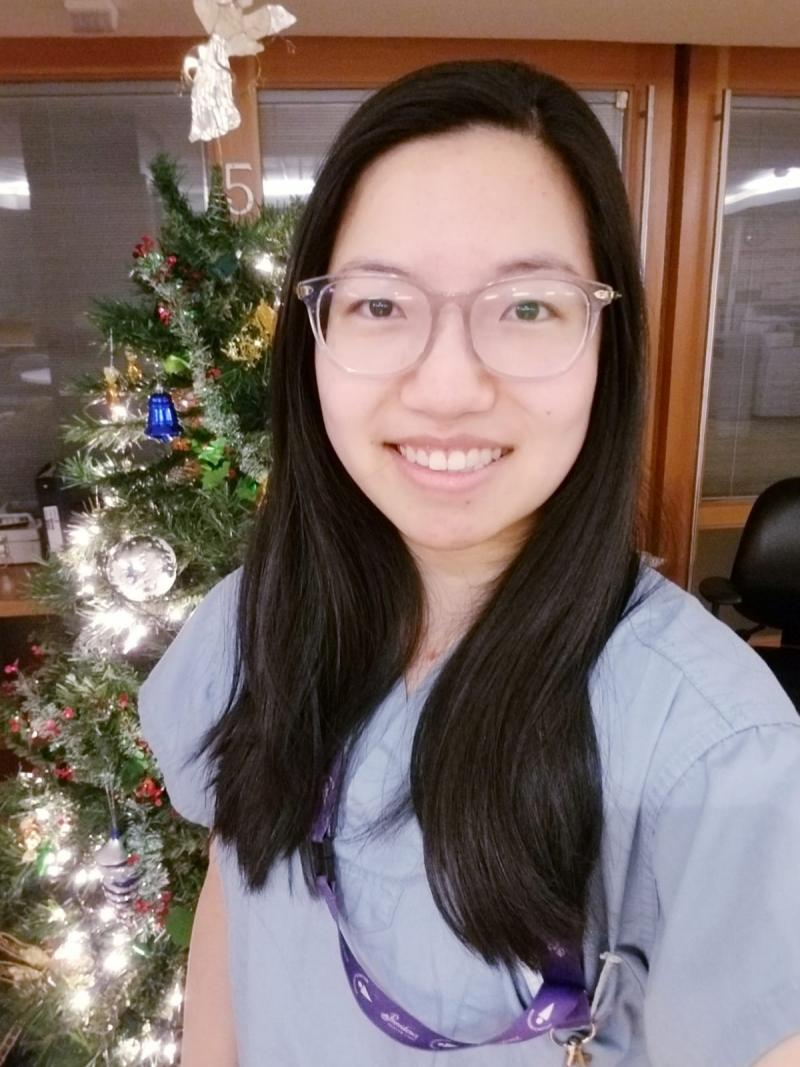Meet Amy Cai, Registered Nurse within the High Acuity Unit at MSJ