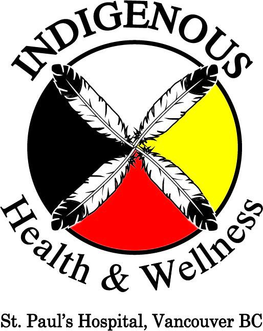 The new logo for the St. Paul's Hospital Indigenous Health and Wellness Team, designed by Bastian Weitzel.