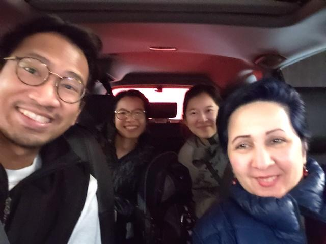 Meet two of the winners of our PHC staff carpool contest! From left to right: Oliver Driz (registered nurse), Margaret Sun (registered nurse), Sarah Cao (registered nurse) and Gissoo Borzueh (registered nurse).