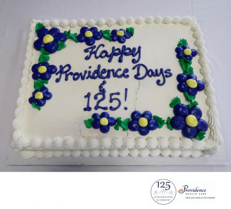 This week, PHC celebrated more than a century of compassionate care across all sites with birthday cake!