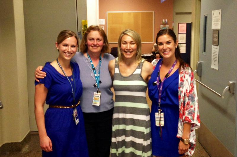 """Nicole O'Byrne, Kosa Matic, Josie Geller and Ali Eberhardt were part of a PHC Practice-Based Research Challenge team that received funding in 2014 for their project titled, """"Addressing the gap in adult eating disorder nutritional recovery: Transitioning patients from intensive treatment to home."""""""