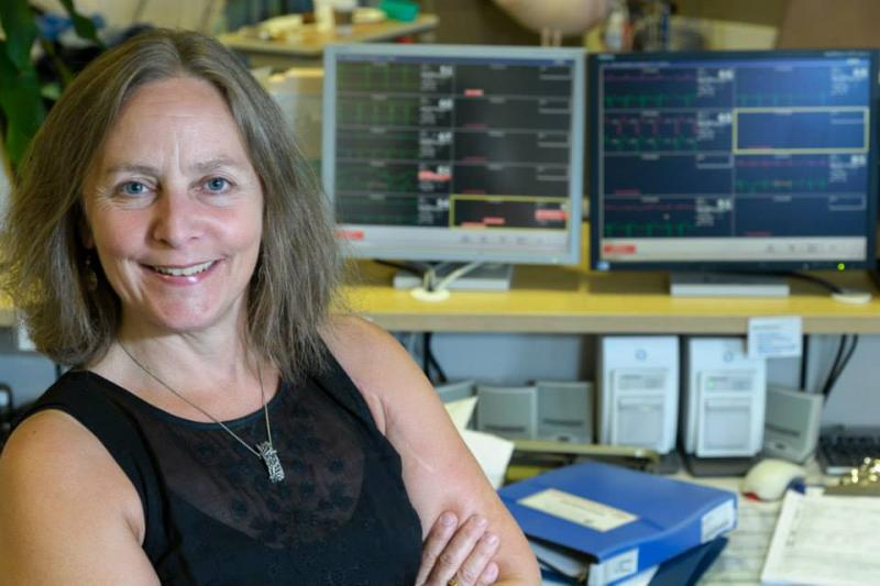 Dr. Martha Mackay, CHÉOS scientist leading new pilot study to reduce depression in heart patients.