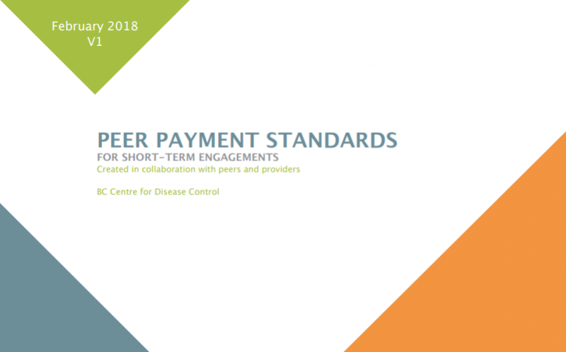 BCCDC's new Peer Payment Standards guide