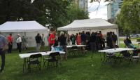 City of Vancouver Phase 2 open house in Thornton Park, last June.