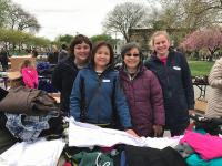 This team of volunteers was all smiles at the spring 2017 Providence in the Park event. Organizers are currently seeking volunteers and donations for the next outreach event in April.